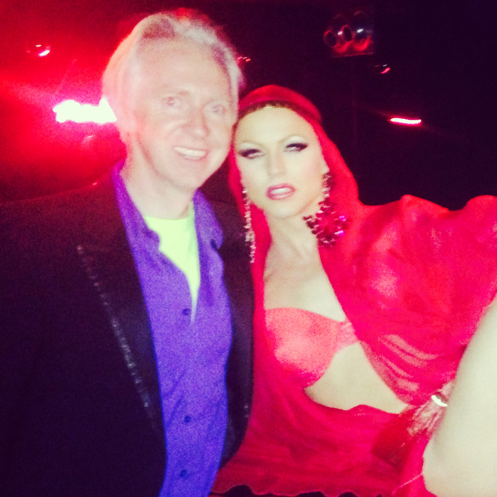 Philip Treacy & Courtney Act