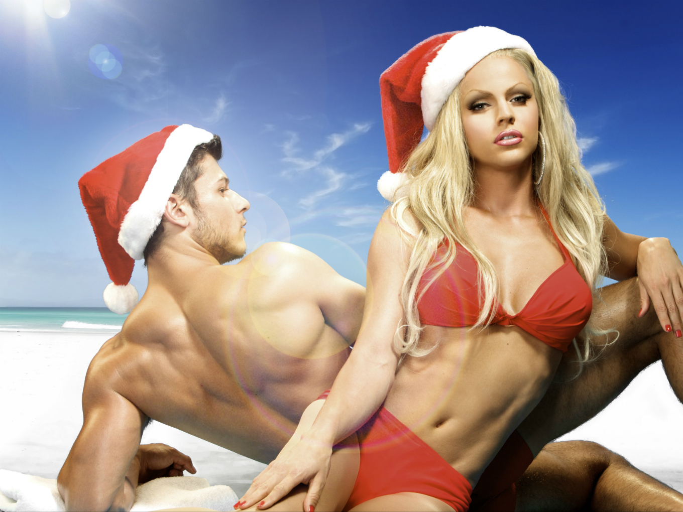 Courtney Act: From Head to Mistletoe